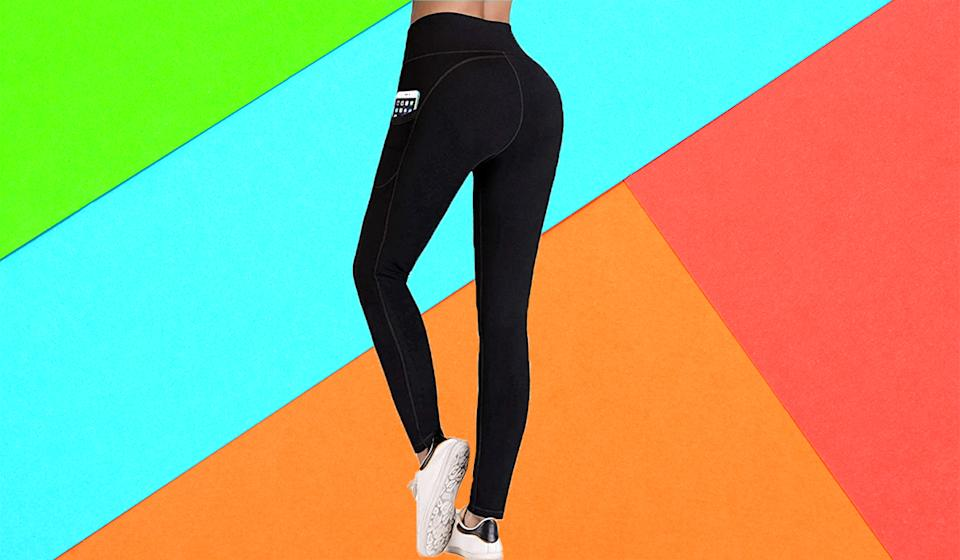 These best-selling leggings are available in 26 gorgeous shades. (Photo: Amazon)