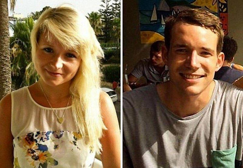 Family pictures of Hannah Witheridge and David Miller. (Photo: Family handout )