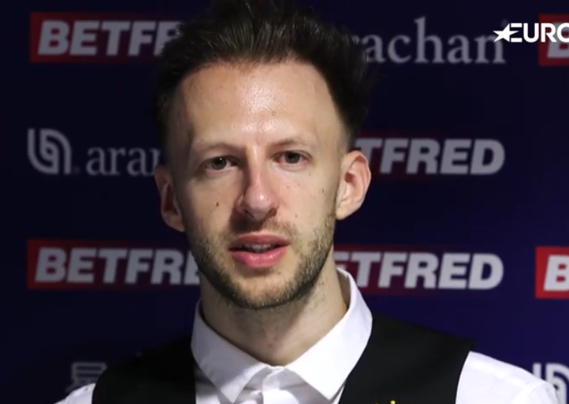 Trump beat Liam Highfield 10-4 to kick off his bid for a second World Championship title