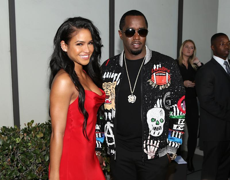 Diddy leans on ex-girlfriend Cassie for support following Kim Porter's death