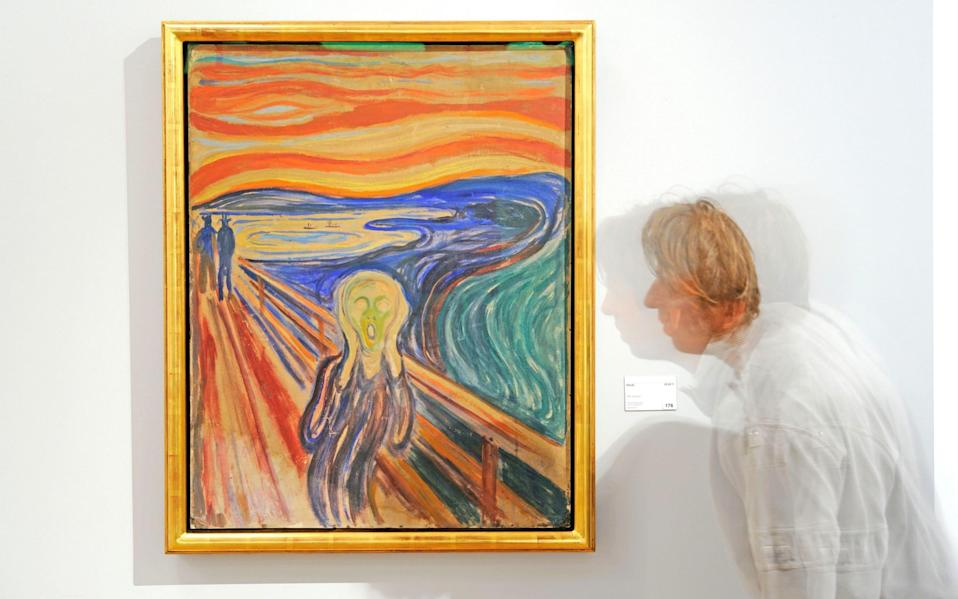 Painted by a madman? Edvard Munch's The Scream - Hemis / Alamy