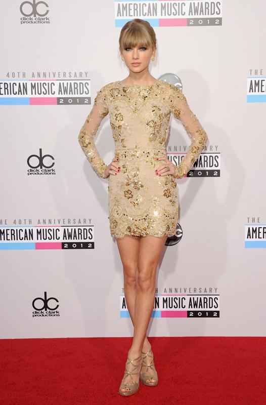 Taylor Swift 40th Annual American Music Awards Los Angeles, CA