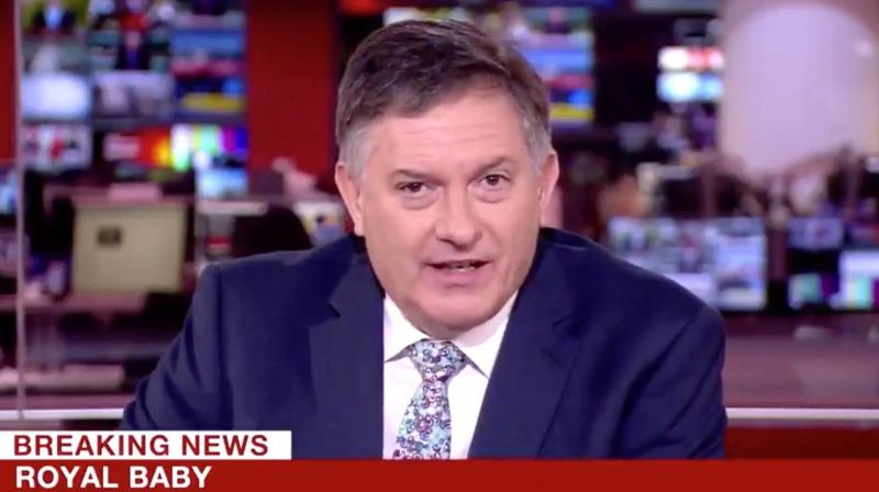 BBC Anchor Delivers The Most Unenthusiastic Royal Baby Report Ever