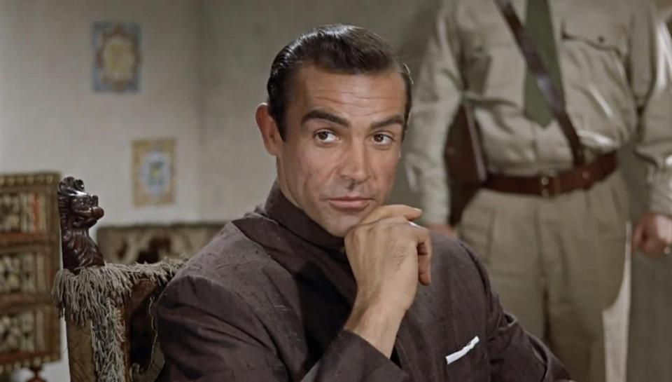 sean connery in first james bond movie dr no in 1962, biggest event every year