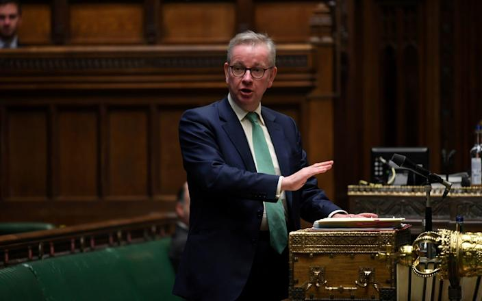 Several sources in Whitehall told this newspaper that Mr. Gove, the chancellor of the Duchy of Lancaster, was the mastermind of Oliver Lewis's dramatic departure from Downing Street & # xa0;  Reuters