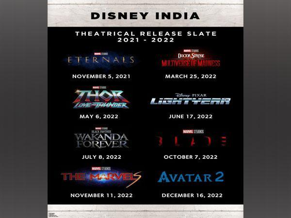 Release dates announced by Disney India
