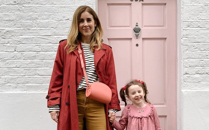 Julie Taylor with her daughter Marnie