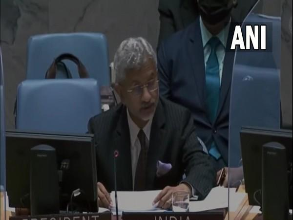 EAM S Jaishankar at UNSC briefing on 'Threats to international peace and security caused by terrorist acts'