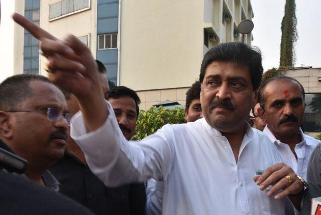 Congress leader and former Maharashtra CM Ashok Chavan in a file photo