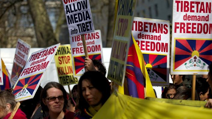 Tibet has supporters of around the world
