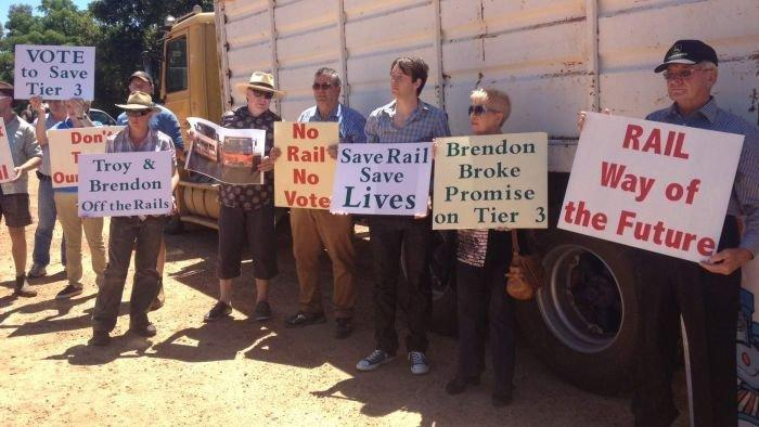 Opposition misleading voters on rail: Buswell