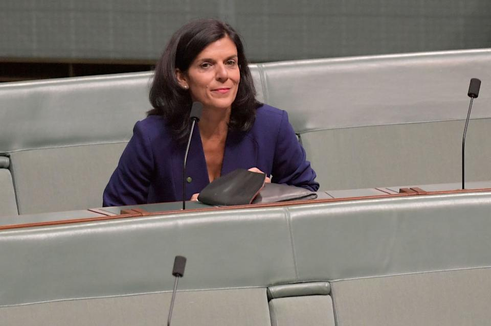 Former Liberal MP Julia Banks has accused Scott Morrison of gaslighting her and lying to the media. Source: Getty