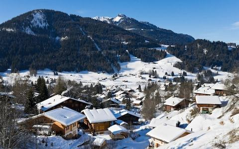 The resort of Les Diablerets in Vaud, Switzerland, is popular with families - Credit: Ian Dagnall/Alamy Stock Photo