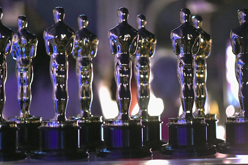 HOLLYWOOD, CA - FEBRUARY 24: In this handout provided by A.M.P.A.S., Oscar statues are seen backstage during the 91st Annual Academy Awards at the Dolby Theatre on February 24, 2019 in Hollywood, California. (Photo by Matt Petit - Handout/A.M.P.A.S. via Getty Images)