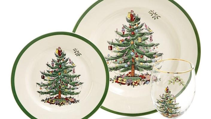 Black Friday 2020: This Spode Christmas tree dinnerware set will put you in the holiday spirit in a hurry—and it's available for much less than retail price during Macy's Black Friday sale.