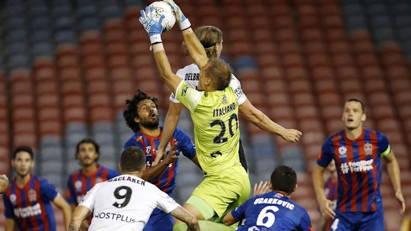 Newcastle Jets' clash with Melbourne City could be the last A-League game played for a while