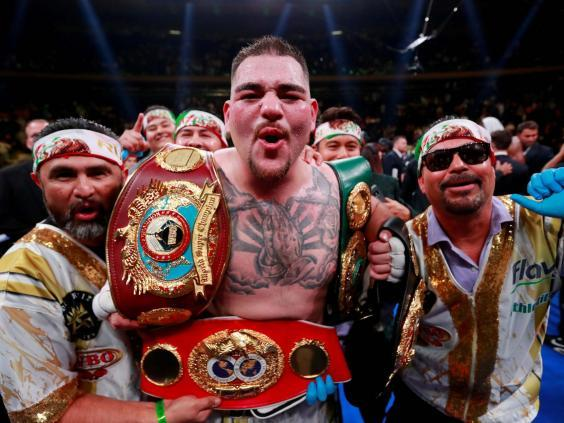 Andy Ruiz has claimed his rematch with Anthony Joshua will not take place in Saudi Arabia (Reuters)