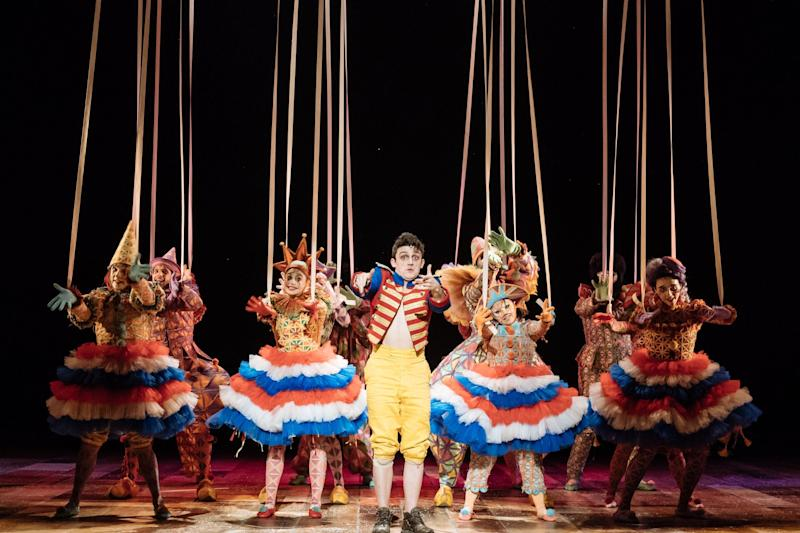 Christmas treats: Pinocchio at the National Theatre: Manuel Harlan