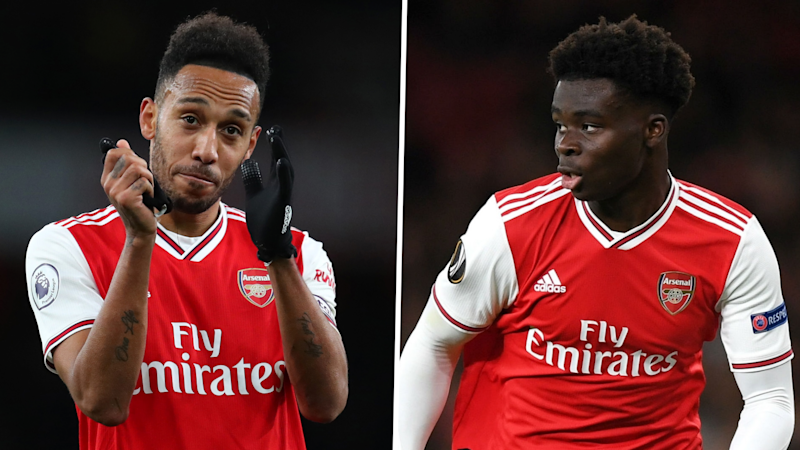 Saka, Aubameyang and Leno in the running for Arsenal Player of the Season prize