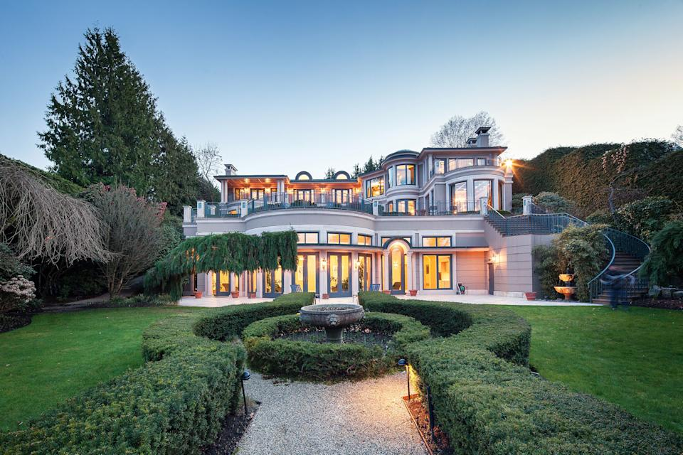 <p>The 21,977 square-foot property is situated on 1.28 acres in prestigious Point Grey.</p> <p>(Sotheby's International Realty Canada)</p>