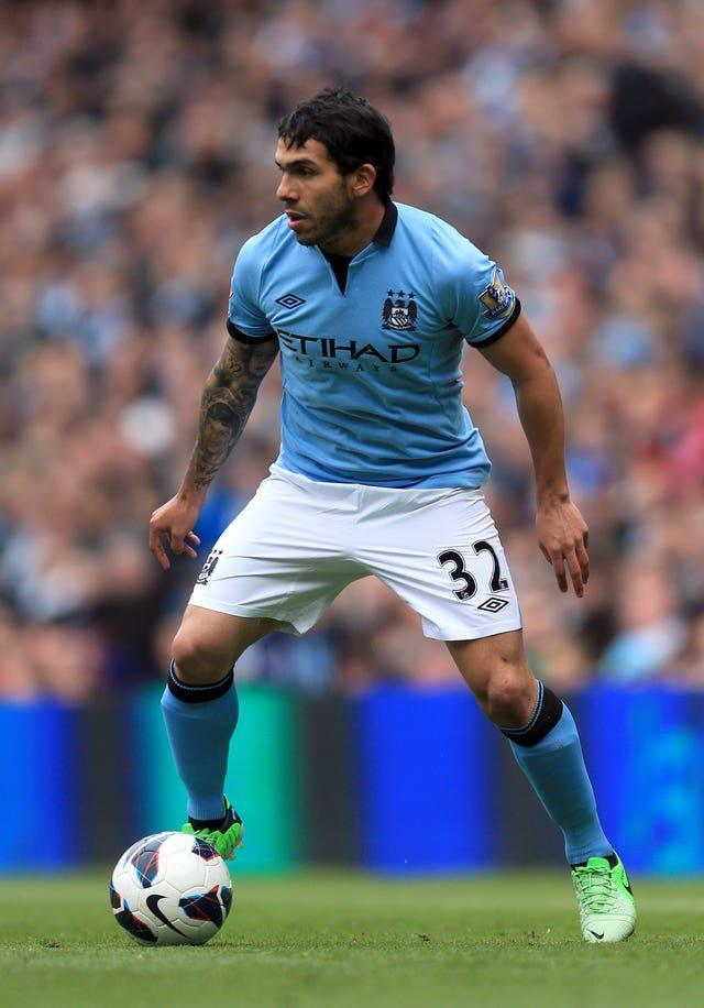 Carlos Tevez's eventful time at City ended in 2013