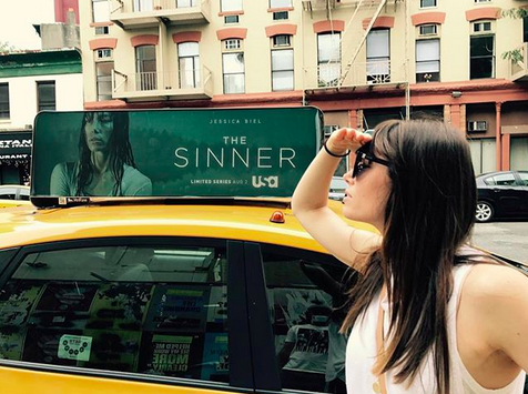 "<p>""Heard ads for #TheSinner were supposed to be hitting the streets any day now,"" quipped Justin Timberlake's sweetie (he took this pic!). ""Keeping my eye out but nothing so far."" (Photo: <a href=""https://www.instagram.com/p/BW8OD__lyTI/?taken-by=jessicabiel"" rel=""nofollow noopener"" target=""_blank"" data-ylk=""slk:Jessica Biel via Instagram"" class=""link rapid-noclick-resp"">Jessica Biel via Instagram</a>) </p>"