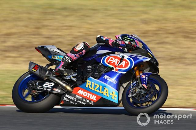 "Alex Lowes, Pata Yamaha <span class=""copyright"">Gold and Goose / LAT Images</span>"