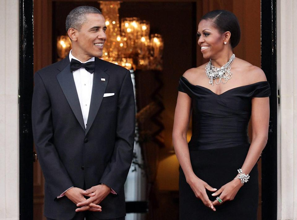 <p>Get someone who looks at you the way that Barack looks at Michelle. </p>