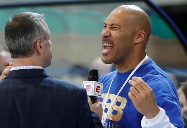 LaVar Ball's decision to have LaMelo play in Lithuania and sign with an agent are at the center of his son's NCAA eligibility issues. (AP)