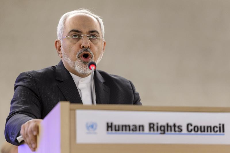 Mohammad Javad Zarif says a letter from Republican senators undermining a possible nuclear deal has sapped Tehran's confidence in dealings with the United States (AFP Photo/Fabrice Coffrini)