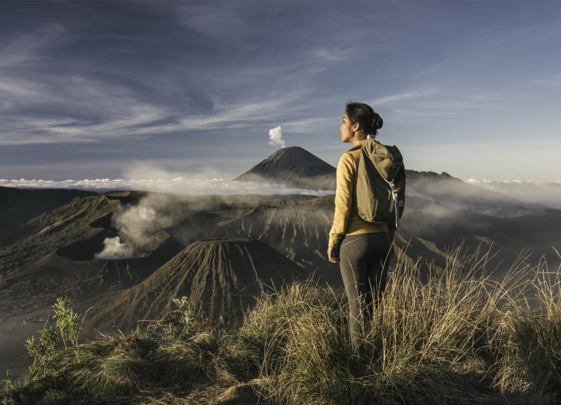 Hiking in Mount Bromo. (PHOTO: Getty Images)