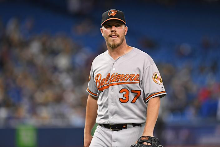 The Angels are hoping they can turn around Dylan Bundy. (Photo by Gerry Angus/Icon Sportswire via Getty Images)