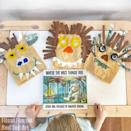 """<p>Simple to make and a blast to wear, these craft masks pay tribute to one of the most iconic children's books of all time. Let the wild rumpus start!</p><p><strong>Get the tutorial at <a href=""""https://www.redtedart.com/where-the-wild-things-are-craft/"""" rel=""""nofollow noopener"""" target=""""_blank"""" data-ylk=""""slk:Red Ted Art"""" class=""""link rapid-noclick-resp"""">Red Ted Art</a>. </strong></p><p><strong><a class=""""link rapid-noclick-resp"""" href=""""https://www.amazon.com/Crafts-ALL-Pigments-Beginners-Professional/dp/B01EVJ8Q0Q/ref=sr_1_5?tag=syn-yahoo-20&ascsubtag=%5Bartid%7C10050.g.3480%5Bsrc%7Cyahoo-us"""" rel=""""nofollow noopener"""" target=""""_blank"""" data-ylk=""""slk:SHOP ACRYLIC PAINT"""">SHOP ACRYLIC PAINT</a><br></strong></p>"""