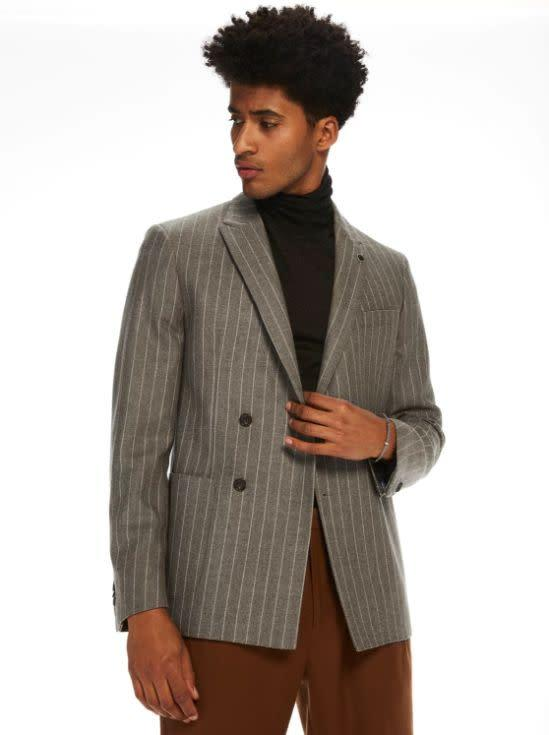<span>Scotch & Soda</span> offers up some trendier items than J.Crew, so it could be a good option if you're looking to expand your style horizons. The brand offers a good selection of blazers and vests, many of which come in under J.Crew's price range. The collared shirts are on the higher end, though, ranging from $95 to $145.