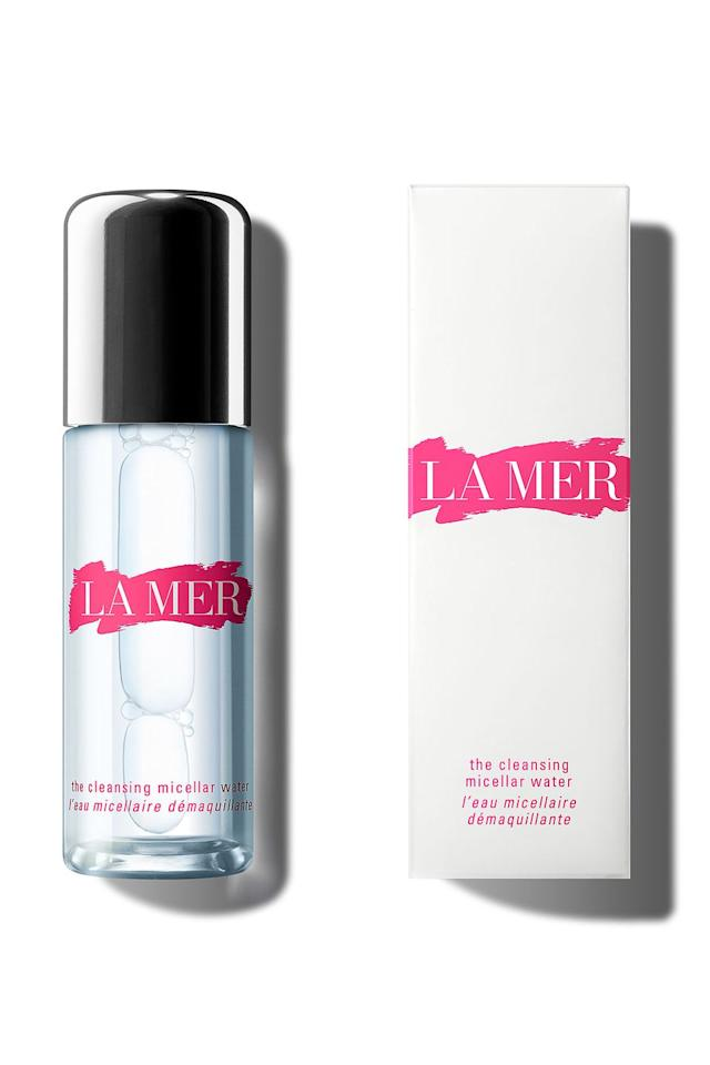 "<p><a rel=""nofollow"" href=""https://www.cremedelamer.co.uk/"">La Mer The Cleansing Micellar Water</a>, £45</p><p>If there was ever an excuse to invest in one of beauty's most luxurious brands it's now, because La Mer have released a limited edition version of their make-up removing rinseless cleanser in support of Estée Lauder Companies' Breast Cancer Campaign.<br><br><strong>The donation: </strong>30% of purchase price <strong></strong></p><p><a rel=""nofollow"" href=""https://www.cremedelamer.co.uk/"">SHOP</a></p>"