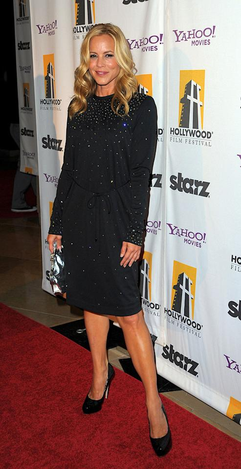 """<a href=""""http://movies.yahoo.com/movie/contributor/1800019251"""">Maria Bello</a> at the 13th Annual Hollywood Awards Gala held at the Beverly Hilton Hotel - 10/26/2009"""