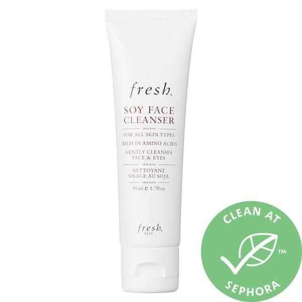 <p>This much-loved <span>Fresh Soy Makeup Removing Face Wash</span> ($15-$69) has more than 8,000 reviews . . . but zero artificial fragrance (though the rosewater and cucumber extract do leave a subtle scent). It removes makeup and impurities with soy proteins, and leaves skin feeling supple and fresh.</p>