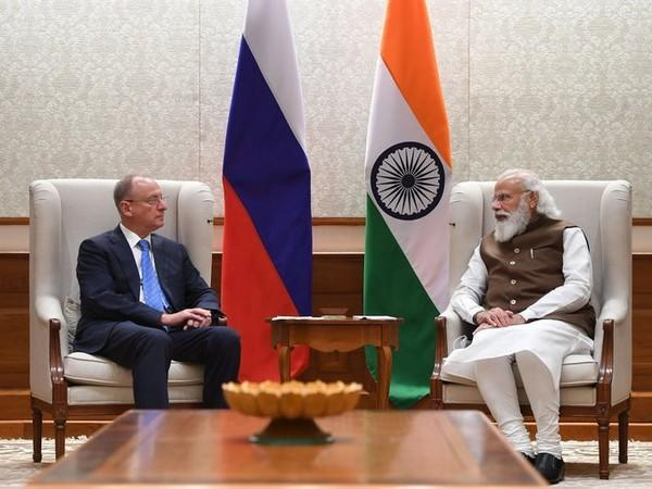 Prime Minister Narendra Modi on Tuesday met with Secretary of the Russian Security Council Nikolai Patrushev on Wednesday.