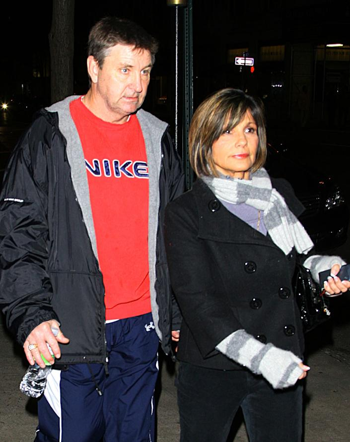 """Britney's parents Jamie and Lynne Spears didn't see much of their daughter during her breakdown. But after her second trip to a mental hospital in January 2008, the exes (they divorced in 2002) came together to save their daughter from what they believed was the controlling grip of Lutfi. In the final days before Jamie became conservator of his daughter, Lynn was often by her daughter's side clinging to her arm as she accompanied her and Lutfi everywhere (because she didn't trust him). Once they got him out of her life – thanks to multiple restraining orders – the relationship between Britney and her parents seemed to improve greatly. In fact, Jamie and Lynne bonded so much, they actually rekindled their own romance in November 2010. After they nursed their daughter back to health, Lynne said, """"We're through the storm and we're looking at the sunshine right now."""""""