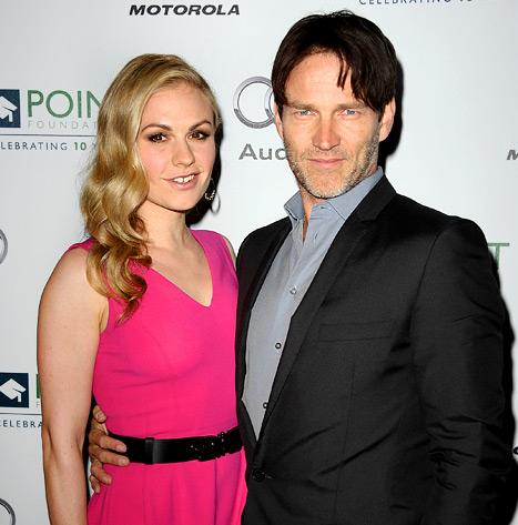 Anna Paquin, Stephen Moyer Expecting Their First Child!