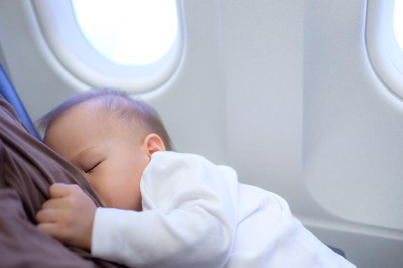 KLM has sparked a debate online after revealing breastfeeding policy [Photo: Getty]