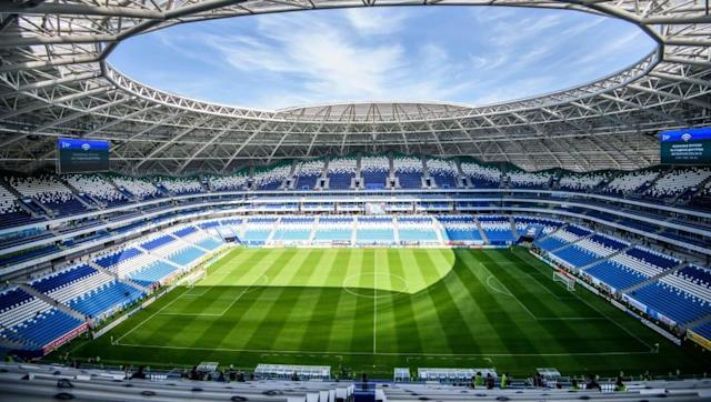 <p>Samara Arena, Samara<br>Year opened: 2018<br>Capacity: 44,918<br>Which games: Five group games, one last 16 tie, one quarter final<br>Fun fact: One of the closest Russian stadiums to the Kazakhstan border. </p>