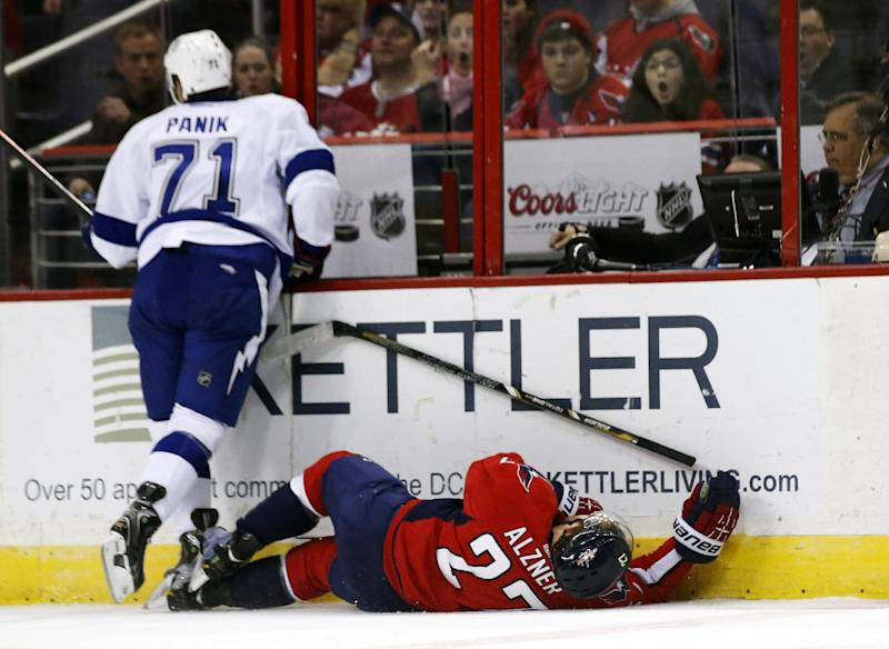 Tampa Bay's Richard Panik suspended for 2 games