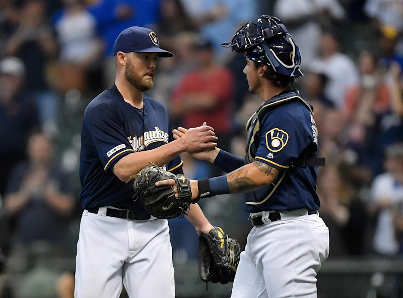 The Brewers have won four straight. (Photo by Quinn Harris/Getty Images)