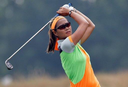 Rosales is playing her first LPGA tournament of the season