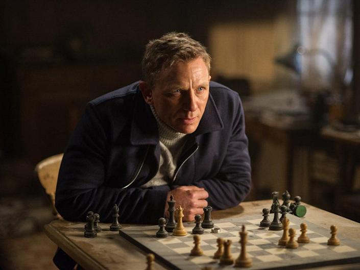 James Bond played by Daniel Craig (Columbia Pictures)