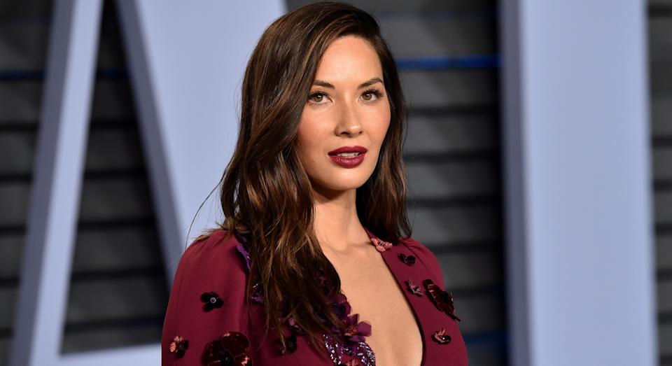 Olivia Munn at the 2018 Vanity Fair Oscar Party (Getty)