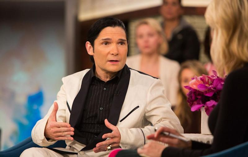 Corey Feldman (pictured here last month) has revealed the identity of the second man who he says sexually abused him when he was young. Source: Getty