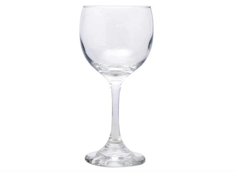 Classic Red Wine Glasses, 13 oz. (Photo: Dollar Tree)