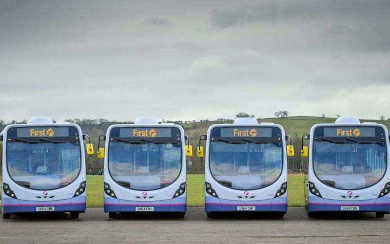 FirstGroup - FirstGroup/PA Wire